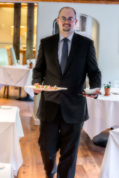 Restaurant Manager Andy Stoneley