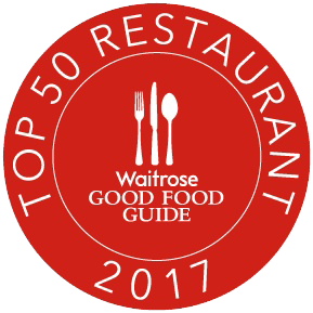 The Good Food Guide 2017 Top 50 Restaurants in the UK