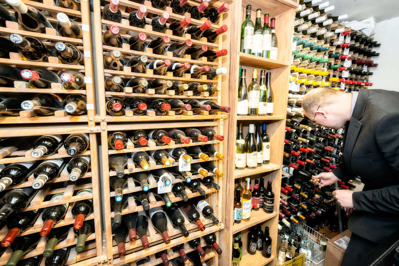 Local and English wines