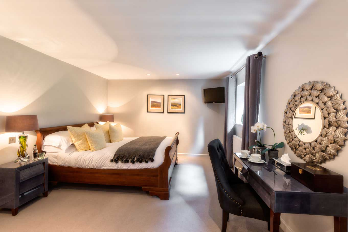 Newly refurbished rooms at The Whitebrook